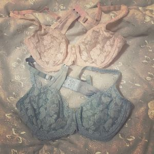 Soft Lace Bras $15 for 2